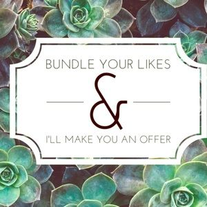 Bundle your likes & I will make you an offer!